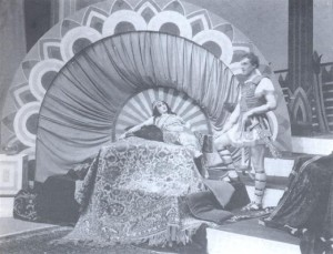 D. Švara: Kleopara; Valerija Heybal v vlogi Kleopatre; Ljubljana, 1940