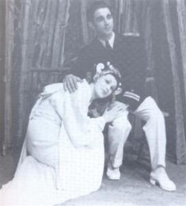 G. Puccini: Madame Butterfly; V vlogi Čo Čo San Valerija Heybal in v vlogi poročnika Pinkertona Janez Lipušček; Ljubljana, 1943