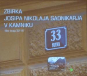 Zbirka Josipa Nikolaja Sadnikarja v Kamniku
